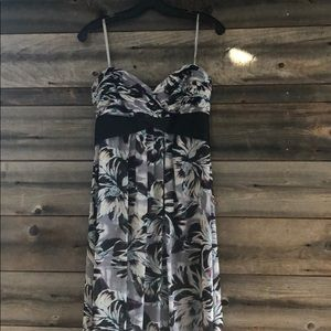 Bcbg long flowy dress